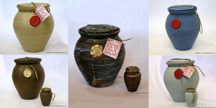 Roman water urn