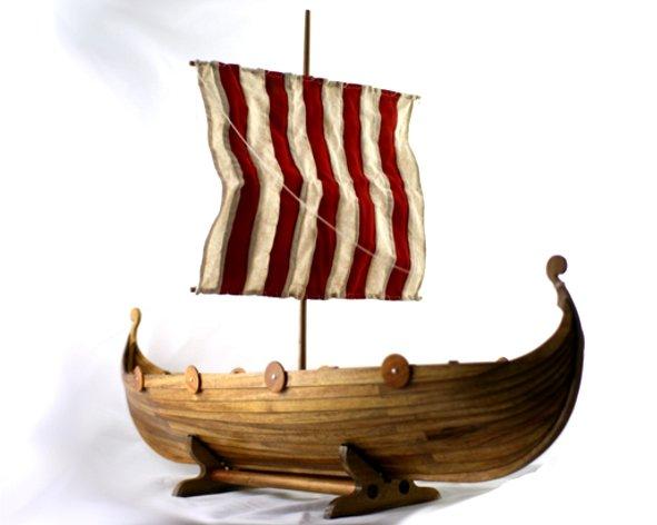 deceased viking longboat urn